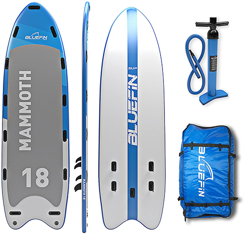 Tabla Bluefin Stand Up Paddle - Modelo Mammoth 18 - Mejores tablas de paddle surf